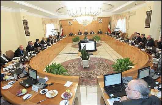 جلسه هیئت دولت (4)